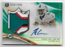 2013 Panini Black MIKE GILLISLEE RC Rookie On Card Auto Jersey PATCH  529/1000