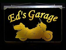 Motorcycle Personalized LED Sign, Man Cave, Garage, Harley Davidson