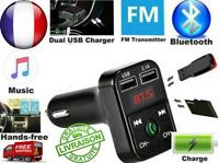 BT36 Bluetooth Voiture Transmetteur FM Kit MP3 Sans fil USB Chargeur Mains Libre