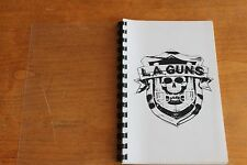 L.A. Guns / TOUR ITINERARY / USA Tour 1988 April