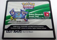 30 x Pokemon SUN & MOON Code Card Via Message/ Online Trade/ Email PTCGO FAST