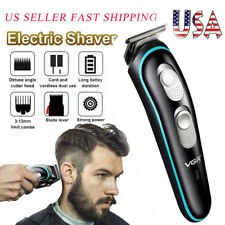Electric Hair Clipper Trimmer Cordless Razor Rechargeable Shaver Shaving Machine