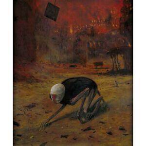 BEKS0006s - Reproduction of Zdzisław Beksiński's painting on canvas