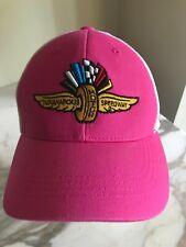 Pink IMS Indianapolis Motor Speedway Youth Hat Cap Mesh Back Racing Auto