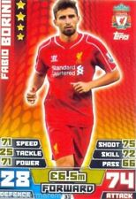 Liverpool Soccer Trading Cards 2014-2015 Season