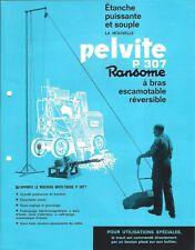 Equipment Brochure - Ransome - P307 Pelvite - Mixer Feeder - FRENCH lang (E4471)