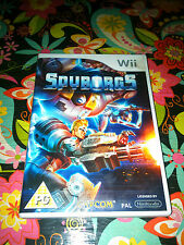 Videojuego Nintendo Wii (funciona en WiiU) : Spyborgs  - Usado