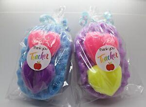 THANK YOU GIFT FOR TEACHER - Soap Filled Sponge Gift Set School Nursery Vegan