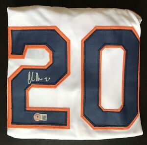 """CHAS MCCORMICK Signed """"Clutch City"""" Houston Astros Jersey (Beckett Holo)"""
