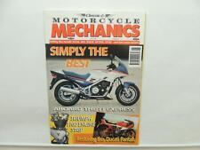 June 1998 MOTORCYCLE MECHANICS Magazine Yamaha Triumph T100 Ducati L9748