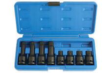 Impacto de seguridad 12 Puntos Con Agujero Star Bits Socket Set M12-M18 Corto + largo