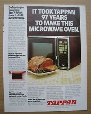 1977 Tappan Microwave Oven / Motorcraft Tune-Up Kits -Ford Ad