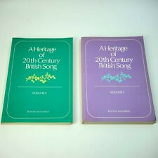 A Heritage of 20th Century Song Vols 1 & 2 1977 1st Ed
