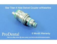 Star Brand 4-Hole Swivel Dental Handpiece Coupler w/Waterline  - ProDental