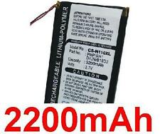 Battery 2200mAh type DA2WB18D2 For iRiver H10 (20GB)
