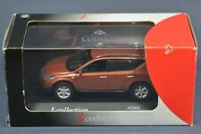 1/43 scale Nissan Murano 2002 Orange metallic J-Collection JC052 RARE IN BOX