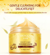 BIOAQUA Foot Care Herbal Cream Cleansing Delicate Feet Exfoliate Scrub Skin 180g