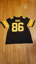 pittsburgh steelers #86 Hines Ward color rush jersey  sz 2XLarge