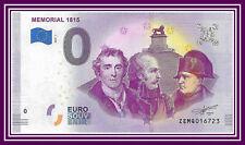 Belgium Billet 0 euro Memorial 1815 Waterloo Euro Souvenir 2019-1