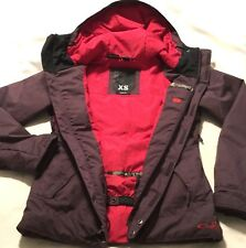 Excellent Women's Oakley Size XS Purple & Pink Trail Hiking Ski Jacket ~ X Small