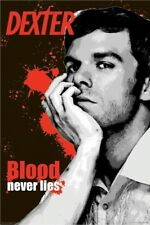 DEXTER ~ BLOOD NEVER LIES 24x36 TV POSTER Michael C. Hall Showtime