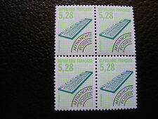 FRANCE - timbre yvert et tellier preoblitere n° 221 x4 n** (dent 13) (A24)