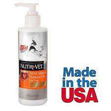Wild Alaskan Salmon Oil Dog Supplement Made in USA from Nutri-Vet