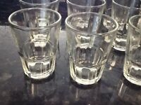 10 Shot Glasses Glass 1 oz Barware Shots Whiskey Tequila Aguardiente Diez Vodka