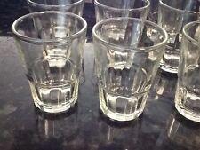 Lot 24 New Shot Glasses Glass Barware Shots Whiskey Agua Ardiente Vodka 1.5 oz