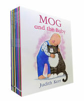 Judith Kerr Mog the Cat Collection 10 Book Set Mog's Bad Thing, Mog and Baby