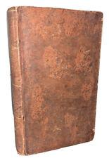 1819-1820, ALLENTOWN PA IMPRINT, GERMAN, SCHWENKFELDER, LEATHER, 3 BOOKS IN 1