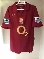 Camiseta Vintage Arsenal 2006 Henry 14 Tallas S, M, L, XL