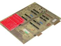 VERY NICE HOUDAILLE 400535-000 MONITOR BOARD FOR STRIPPIT FC750,  FC1000