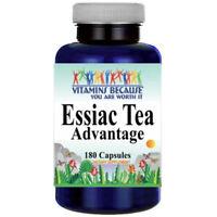 Essiac Tea Advantage 180 Capsules Vitamins Because