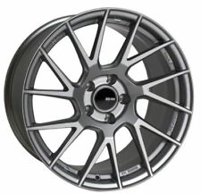 17x8 Enkei Rims TM7 5x114.3 +35 Storm Gray Rims Fits Mazda 3 Accord Rsx Tsx