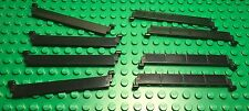 Lego New Bulk City Town Black Garage Door Roller X8 Parts / Pieces