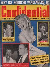 Confidential November 1967 Marilyn Monroe, Dean Martin VG 122215DBE