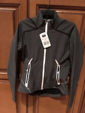 Sugoi RSR power shield jacket grey cycling medium women's new