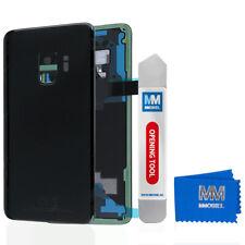 Akkudeckel mit Linse für Samsung Galaxy S9 G960 (SCHWARZ) Backcover