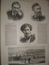 Quetta Belucistan Pakistan 1878 old print ref Y1