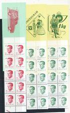TIMBRE STAMP ZEGEL BELGIQUE 3 CARNETS BAUDOUIN C16-17-18 XX