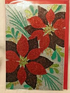 """Hallmark Signature Seasons Greeting Card """"May all kinds of happiness..""""NEW(A31"""