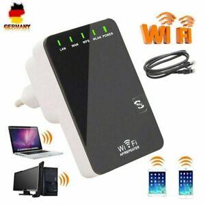 WLAN Repeater Router Range Extender WIFI Wireless Signal Verstärker Booster DE