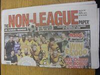 02/08/2015 The Non-League Paper: Issue No 801. Footy Progs/Bobfrankandelvis, exp