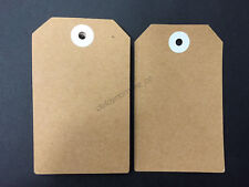 48pcs Brown Paper Gift Tags Craft Wedding Gift Wrap Bonbonniere Party Favours