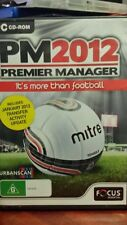 Premier Manager PM 2012 PC GAME - FREE POST