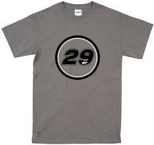 29ER DESIGN T-SHIRT, CYCLING, MOUNTAIN BIKE, ALL SIZES