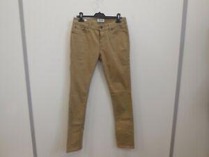 Jack&Jones Jeans Intelligence Khaki Skinny Jean Trousers W:30 L:32