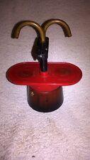 DESIGN - Espressokocher orig. Italien RED - OLD COFFEE MAKER