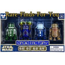 Disney Park Star Wars Clone Wars Astromech Droid Factory Figure 4-Pack Set (NEW)